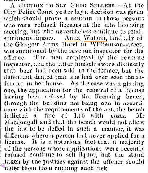 CUMMING_Anna_crime_sly_grog_article_Bendigo_Advertiser_12_Feb_1876
